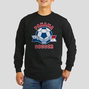 Panama Soccer Long Sleeve T-Shirt