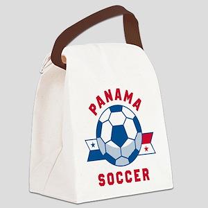 Panama Soccer Canvas Lunch Bag