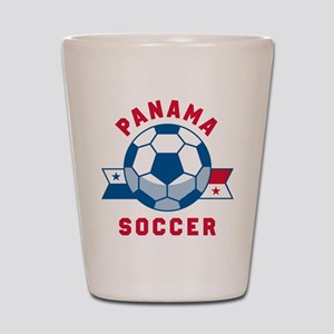 Panama Soccer Shot Glass