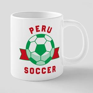 Peru Soccer Mugs