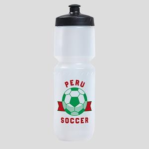Peru Soccer Sports Bottle