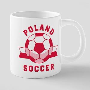 Poland Soccer Mugs