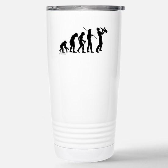 Sax Evolution Stainless Steel Travel Mug