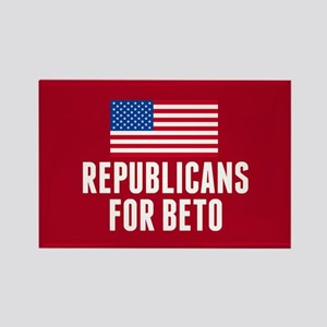 Republicans for Beto Rectangle Magnet