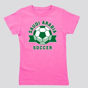 Saudi Arabia Soccer Girl's Tee
