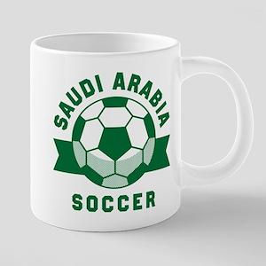 Saudi Arabia Soccer 20 oz Ceramic Mega Mug