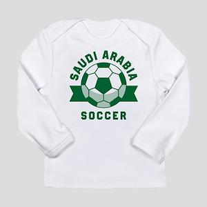 Saudi Arabia Soccer Long Sleeve Infant T-Shirt
