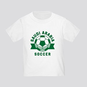 Saudi Arabia Soccer Toddler T-Shirt