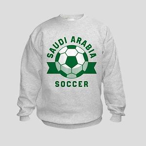 Saudi Arabia Soccer Kids Sweatshirt