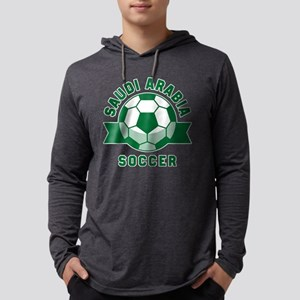 Saudi Arabia Soccer Mens Hooded Shirt