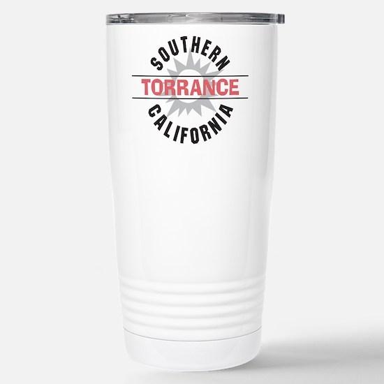 Torrance California Stainless Steel Travel Mug