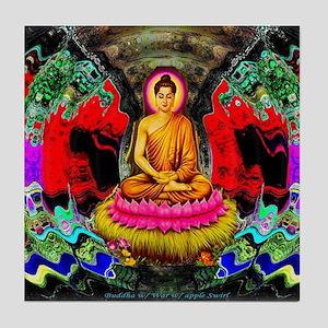 Buddha Swirl - Tile Coaster