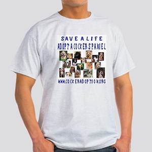 Save a Life Ash Grey T-Shirt