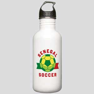 Senegal Soccer Water Bottle