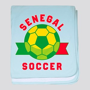 Senegal Soccer baby blanket