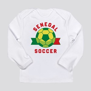 Senegal Soccer Long Sleeve T-Shirt