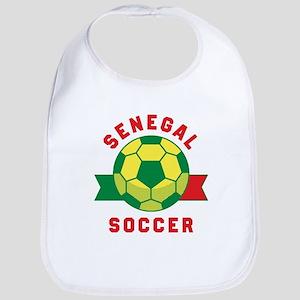 Senegal Soccer Baby Bib