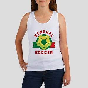 Senegal Soccer Tank Top