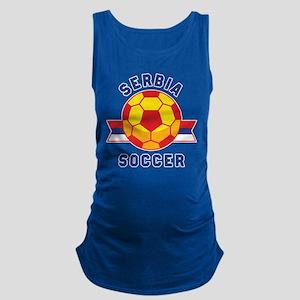 Serbia Soccer Tank Top