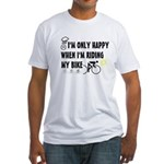 Only Happy Riding Fitted T-Shirt