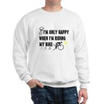 Only Happy Riding Sweatshirt