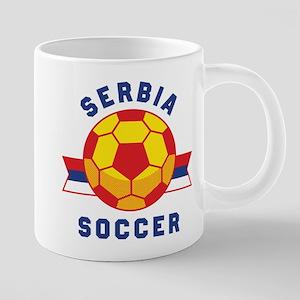 Serbia Soccer Mugs