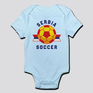 Serbia Soccer Body Suit