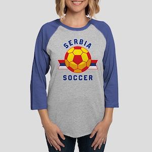 Serbia Soccer Long Sleeve T-Shirt
