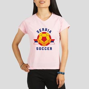 Serbia Soccer Performance Dry T-Shirt