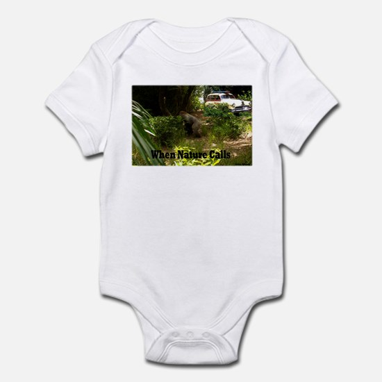 When Nature Calls Infant Bodysuit