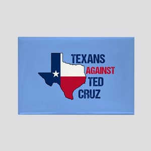 Texans Against Ted Cruz Rectangle Magnet