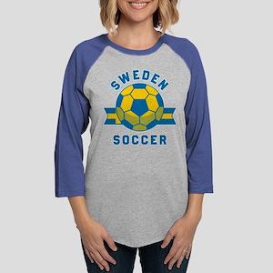 Sweden Soccer Long Sleeve T-Shirt