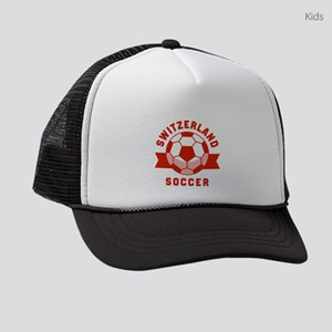 Switzerland Soccer Kids Trucker hat