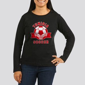 Tunisia Soccer Long Sleeve T-Shirt