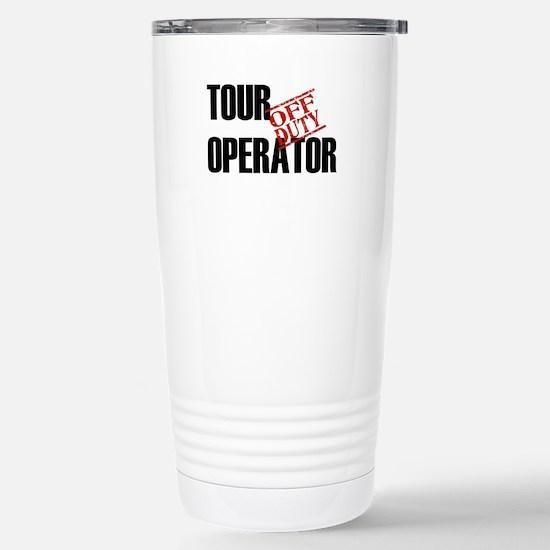Off Duty Tour Operator Stainless Steel Travel Mug