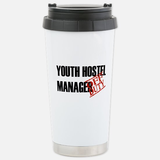 Off Duty Youth Hostel Manager Stainless Steel Trav