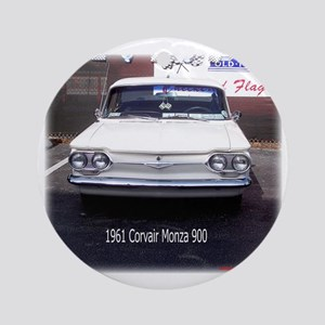 1961 Corvair Monza 900 Ornament (Round)