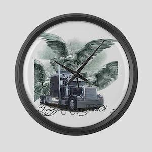 Independent Spirit Large Wall Clock