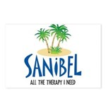 Sanibel Therapy Postcards (Package of 8)