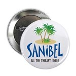 """Sanibel Therapy 2.25"""" Button"""