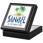 Sanibel Therapy Keepsake Box