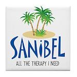 Sanibel Therapy Tile Coaster