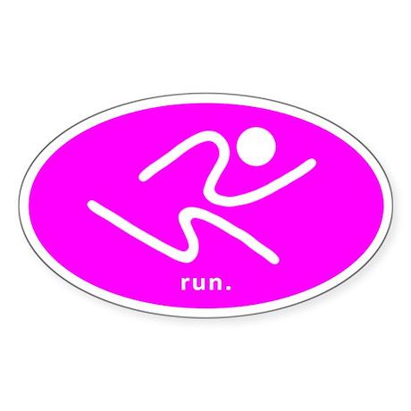 iRun2 Sticker (Uber Pink)