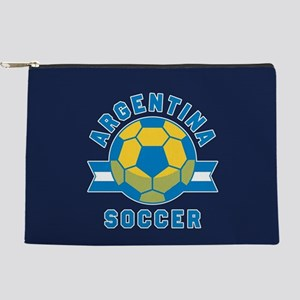 Argentina Soccer Makeup Bag