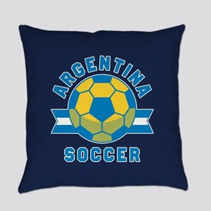 Argentina Soccer Everyday Pillow