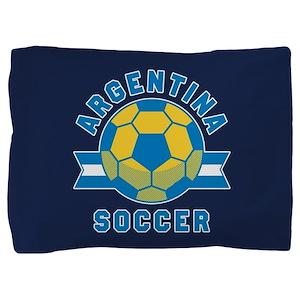 Argentina Soccer Pillow Sham