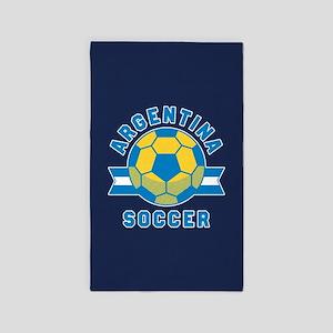 Argentina Soccer Area Rug