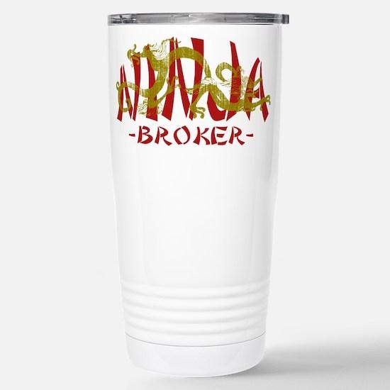 Dragon Ninja Broker Stainless Steel Travel Mug