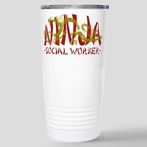 Dragon Ninja Social Worker Stainless Steel Travel