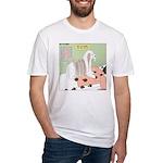 Shih Tzu Shiitake Shiatsu Fitted T-Shirt